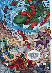 Ormen et Calibor face à Yensid