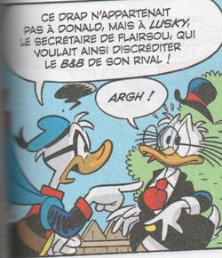 Donald accuse Flairsou