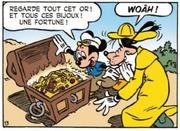 Mickey et Dingo ont trouvé le trésor du capitaine Calmar