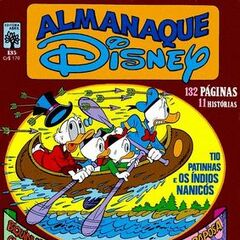 Couverture du <i>Almanaque Disney</i> n<sup class=