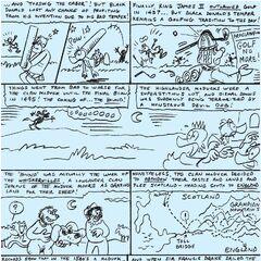Planche cinq de l'histoire, jamais publiée.