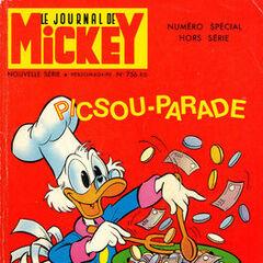 Troisième numéro du <i>Mickey Parade</i> bis paru le 20 novembre 1966, qui porte le numéro 756.