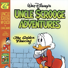 Couverture de <i>The Adventures of Uncle Scrooge McDuck in Color n<sup class=