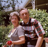 Walt et Lillian Disney