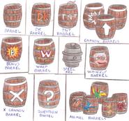 DKC4 - Barrels 1