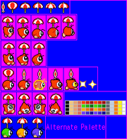 Parasol Waddle Doo (Kirby Nightmare in Dreamland)