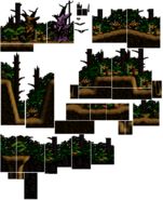 DKC2 - Haunted Woods