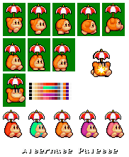 Parasol Waddle Dee (Kirby Super Star Ultra)