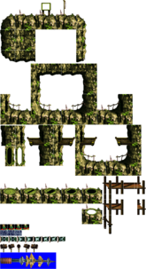 K. Rool's Mobile Island Fortress (outside)