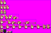 Chef Kawasaki (Kirby Super Star - Alternate Palette 2)