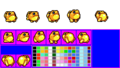Sir Slippy (Kirby - Nightmare in Dreamland - Sprite Sheets).png