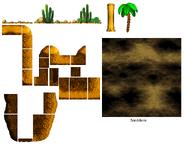 DKC4 - Desert foreground