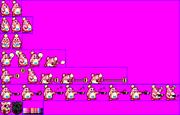 Chef Kawasaki (Kirby Super Star - Alternate Palette 1)