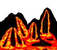 DKC2 - Lava SNES