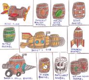 DKC4 - Barrels 2