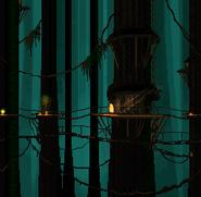 DKC - Treetops SNES