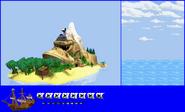 DKC GBA - DK Island