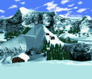 DKC3 - Snow SNES