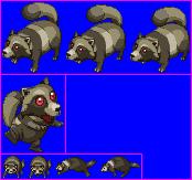 Chimera Tanuki (Tokyo Mew Mew - Playstation Games)