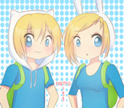 212px-Art trade finn and fionna by natto 99-d54rkj1