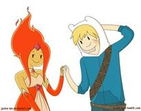 Finn and flame princess are cuties by jackie lyn-d5kttjv.png