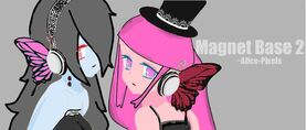 Bloody bubblegum magnet by witchling413-d4gyl5q