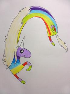 Lady rainicorn by mintelf-d51t4qq