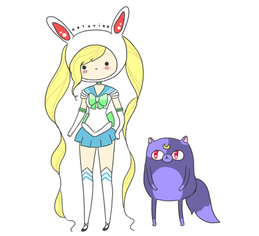 Adventure-time-mashup-sailor-moon