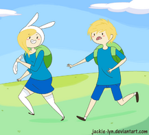 Run finn run by jackie lyn-d4p4meq