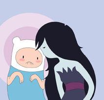 Marceline and finn cuteness by vonnie seiyuki chan-d4lrl0r
