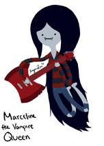 Marceline the vampire queen by rawrityx3-d3721a4