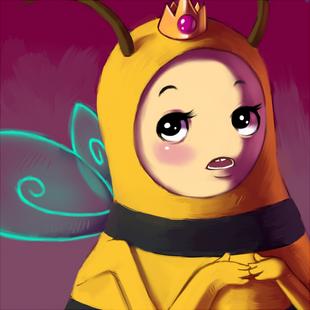 Bee princess by sirrailgun-d3200p8