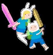 Adventure time fionna n finn by janelvalle-d47ki4r