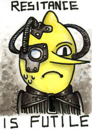 Lemongrab borg by catzilla-d48rle0