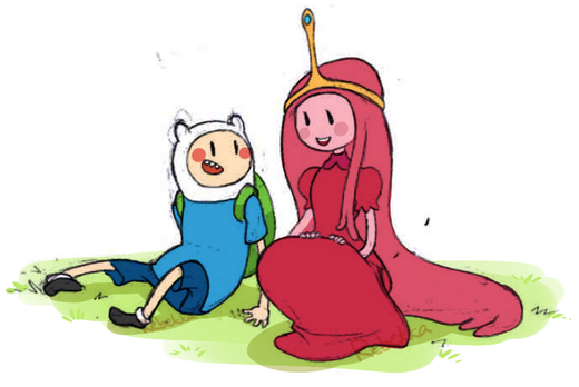 1 finn and bubblegum by abilden-d48342t