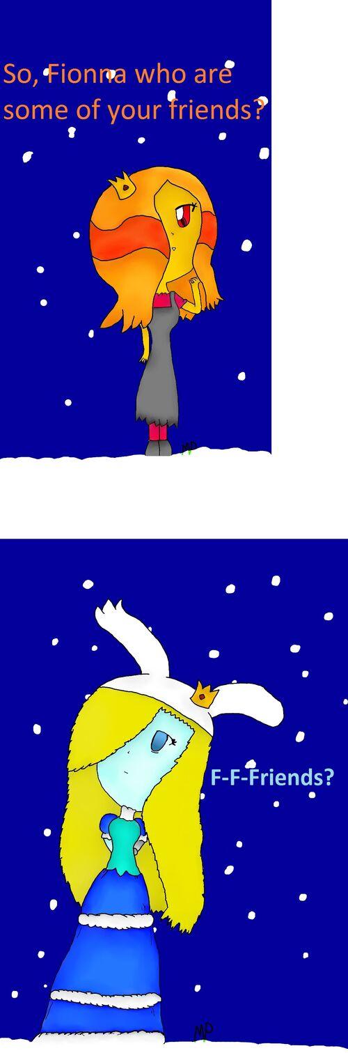 Fionna friends comic