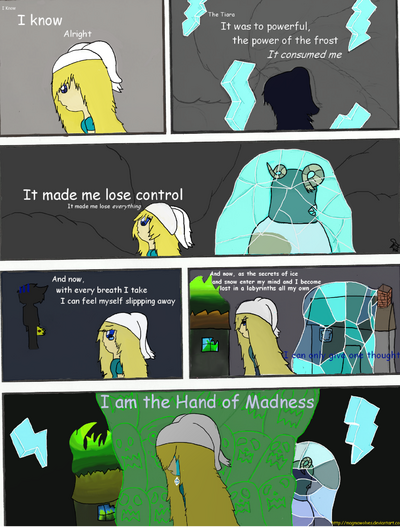 Frozen Tears Page three c