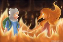 1 circlebox finn-and-flame-princess-fanart