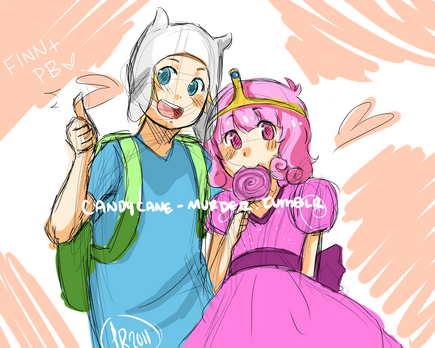1 adventure time finn and pb by spiceybuncake-d3g6gg8