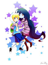 2 finn and marceline mouse drawn by antares star xd-d4ynwfb