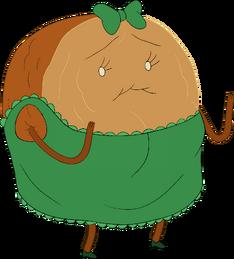 Cinnamon Bun in Dress