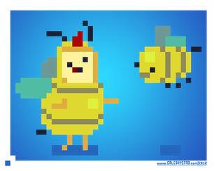 Bee princess by cale8-d4xbrsm