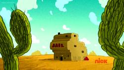 Jail desert