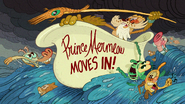 Prince Mermeow Moves In