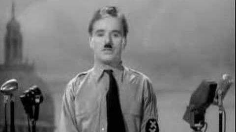 The Great Dictator - speech
