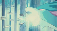 Ryan's Suicune attackwater
