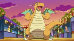 Ryan's Dragonite anime