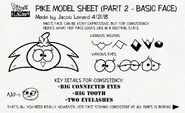 --Pike--'s model sheet.