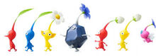 All pikmin types