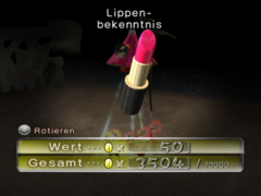 Lippenbekenntnis ingame